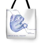 Artificial Heart Tote Bag