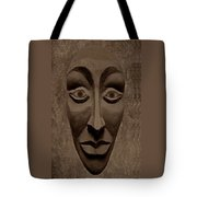 Artificial Intelligence Entity Sepia Tote Bag