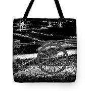 Artillery At Gettysburg Tote Bag