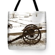 Artillery Positions - Toned Tote Bag
