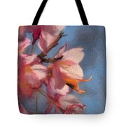 Artisic Painterly Cherry Blossoms Spring 2014 Tote Bag