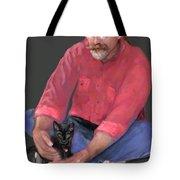 Artist At Play Tote Bag