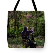 Artist At Work Tote Bag