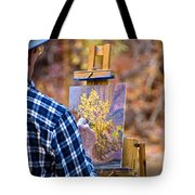 Artist At Work - Zion Tote Bag