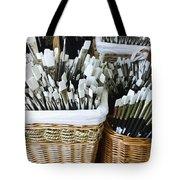 Artist Brushes Tote Bag