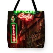 Artist Cafe Tote Bag