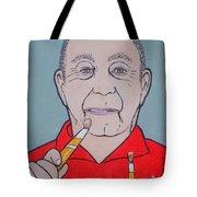 Artist Paints Artist Tote Bag