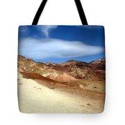 Artist Pallet Death Valley Tote Bag