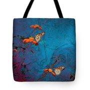 Artistic Butterflies Tote Bag