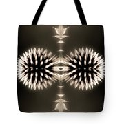 Artistic Flower Abstract Tote Bag