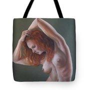 Artistic Nude Tote Bag by Leida Nogueira