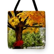 Artistic Reflection Tote Bag