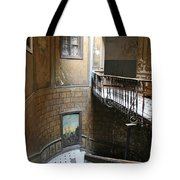 Artistic Staircase In Tbilisi Tote Bag