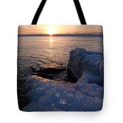 Artistic Sunrise Tote Bag
