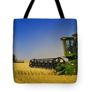 Artists Choice Two Combine Harvesters Tote Bag