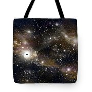 Artists Concept Of A Black Hole Tote Bag by Marc Ward