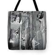 Artists Creating Billboards Tote Bag