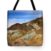 Artists Palette Death Valley National Park Tote Bag