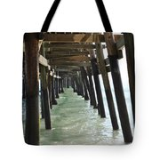 Long Walk Short Pier Tote Bag
