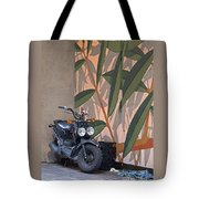 Artsy Parking Space Tote Bag