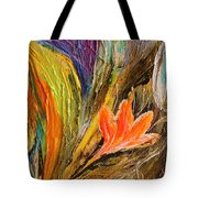 Artwork Fragment 98 Tote Bag by Elena Kotliarker