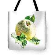 Artz Vitamins Series A Happy Green Apple Tote Bag