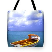 Aruba. Fishing Boat Tote Bag by Anonymous