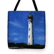 Aruba Light House Tote Bag