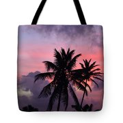 Aruba Sunset Tote Bag