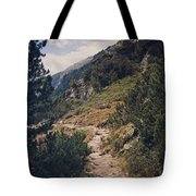 As Far As My Feet Will Carry Me Tote Bag by Thomas Richter