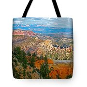 As Far As The Eye Can See From Farview Point In Bryce Canyon-utah   Tote Bag