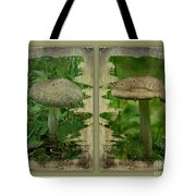 As I Age - A Mushroom's Tale Tote Bag