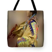 Pow Wow As In A Dream 2 Tote Bag