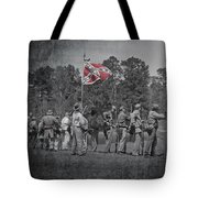 As The Flag Waves Tote Bag