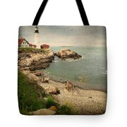 As The House Looks Over Tote Bag