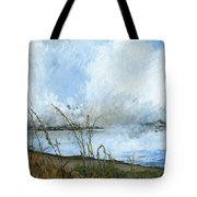 As The Mist Rises Tote Bag