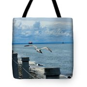 As The Seagull Flies Tote Bag