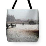 As The Snow Falls Tote Bag