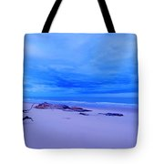 As The Storm Approaches Tote Bag