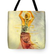 As The Sun Rises Tote Bag by Angelique Bowman