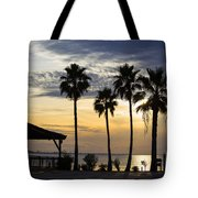 As The Sun Sets South Padre Island Texas Tote Bag