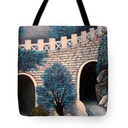As The Water Flows Tote Bag
