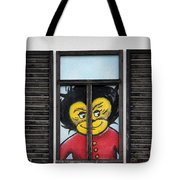 As You Look Into A Window Into It So It Looks Out Tote Bag