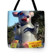 Asbestos Kills Tote Bag