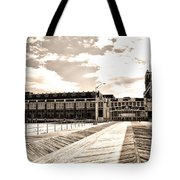 Asbury Park Boardwalk And Convention Center Tote Bag