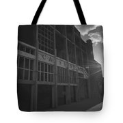 Asbury Park Nj Casino Black And White Tote Bag