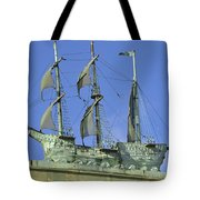 Asbury Park Nj Convention Hall Ship  Tote Bag