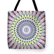 Ascending Eye Of Spirit Kaleidoscope Tote Bag by Derek Gedney