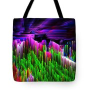 Asgard Roof Of The World Tote Bag