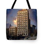 Ashevilles Jackson Building Tote Bag